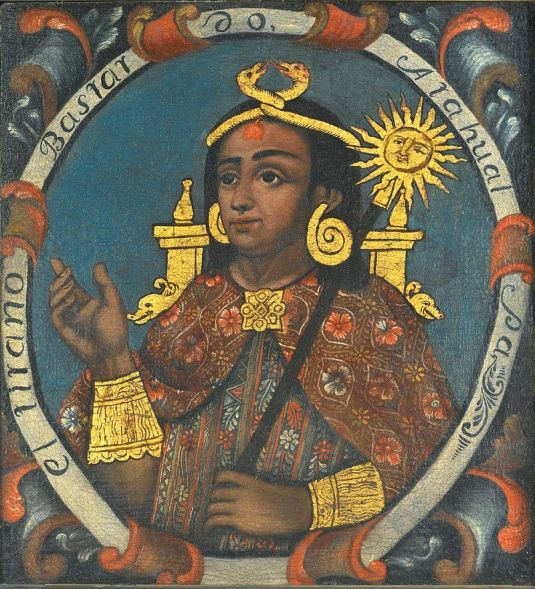 Atahualpa, Fourteenth Inca, (Brooklyn Museum)