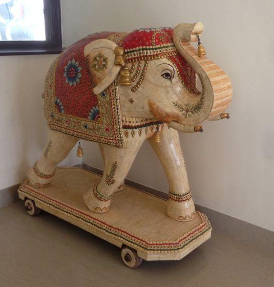 bone estatua de la india 1940
