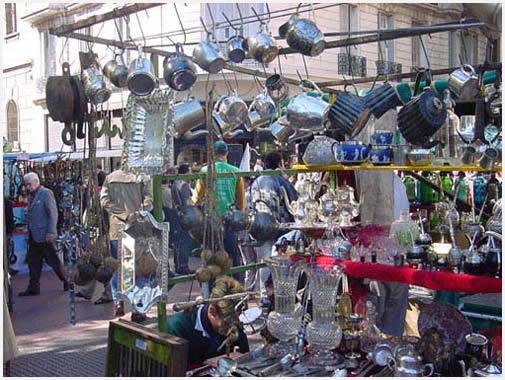 Feria De Antiguedades De San Telmo Parada Obligada En