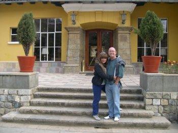 En Hotel de Turistas de Tarma - Perú (hoy Hotel Los Portales)