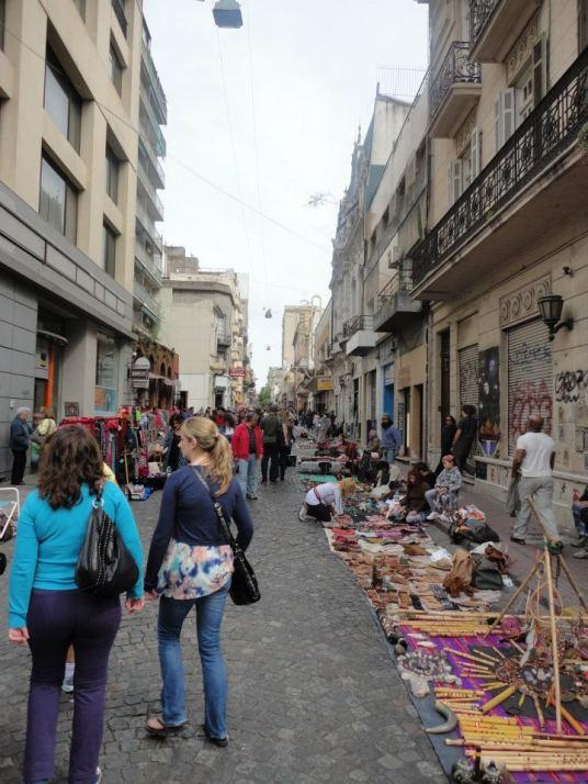 Feria de antiguedades de San Temo - Buenos Aires (calle Defensa)