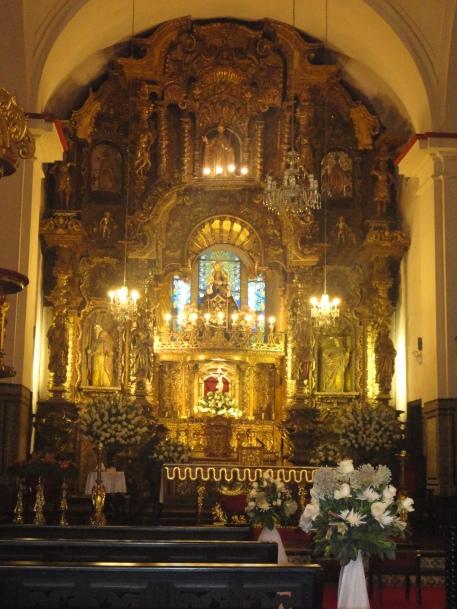 Altar de la Iglesia de San Marcelo