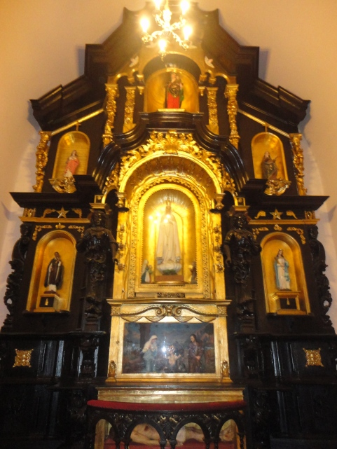 Retablo de estilo barroco - Iglesia de San Marcelo