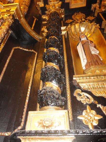 Columna barroca - Iglesia San Marcelo
