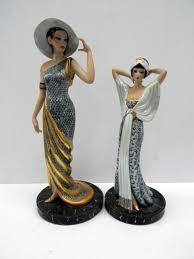 Esculturas de Edoardo Tasca en porcelana Capodimonte