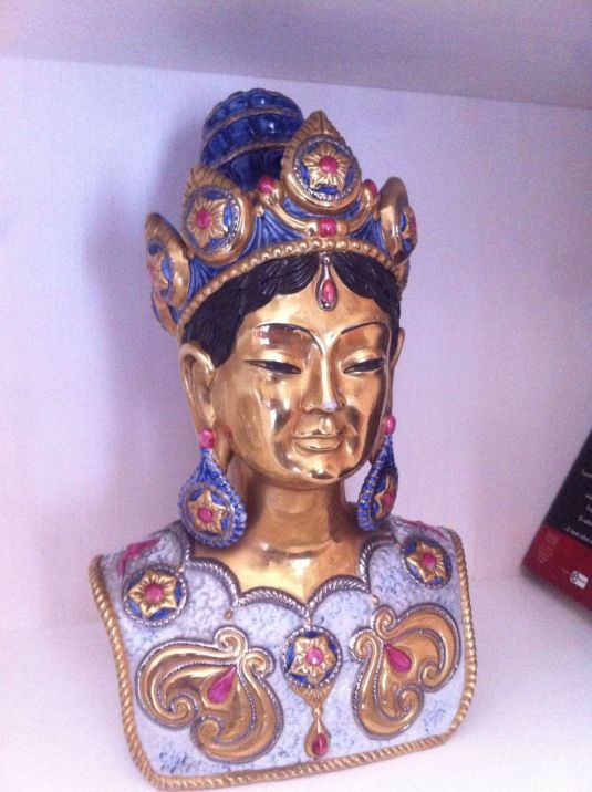 Princesa india, escultura de Edoardo Tasca para Capodimonti, en eedicion limitada