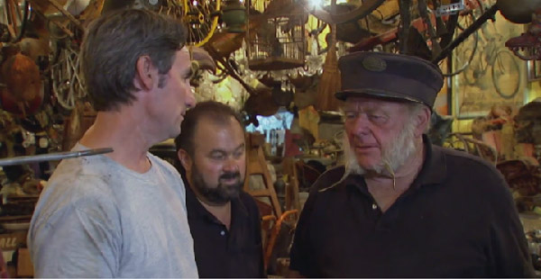Dany y Frank son los cazadores de tesoros por History Channel