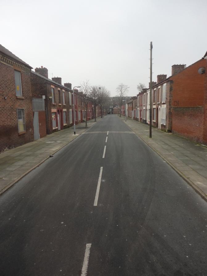 Esta es la calle donde se ubica la casa donde vivió su infancia Ringo Star