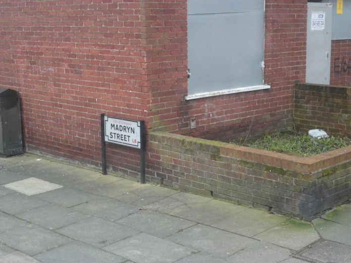 Madryn Street en Liverpool