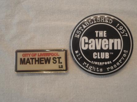Souvenirs adquiridos en The Cavern Club.