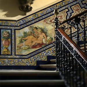 Porcelana y cer mica big ben antiguedades y coleccionismo for Hotel azulejos
