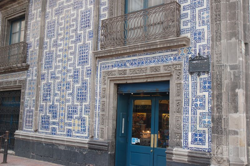 Talavera big ben antiguedades y coleccionismo for Casa de los azulejos ciudad de mexico