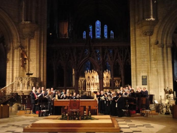 Coro de la Catedral de Ely - Inglaterra