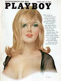 Portada de la revista Play Boy de 1965.