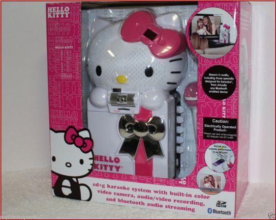 hello kitty cd karaoke video camara