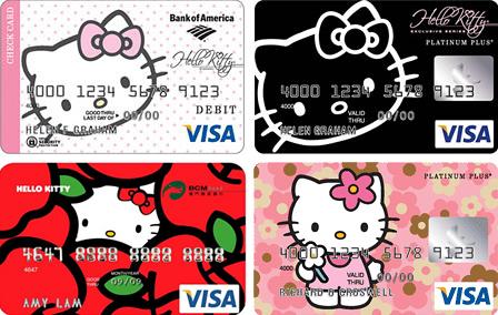 hello kitty credit card