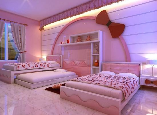 hello kitty sofisticate bedroom