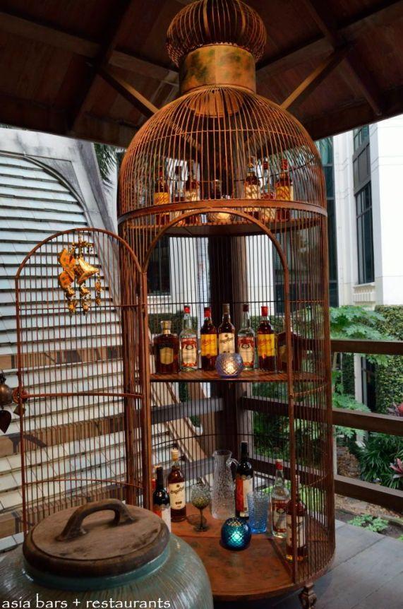 jaula de restaurant Bangkok