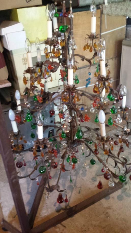 murano candelabro