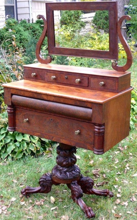 tocador neo clásico de 1825