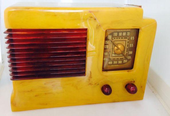 bakelite tubes radio sentinel 1939