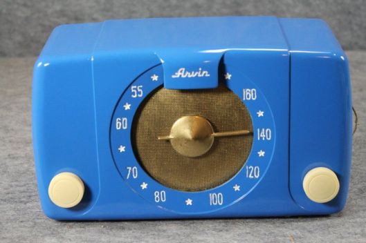 bekelite arvin tubes radio 1940