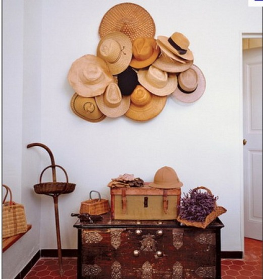 decorating with hats 3