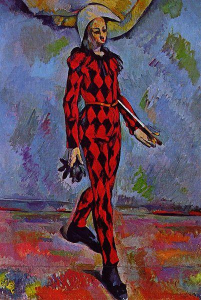 arlequin Paul Cézanne 1880