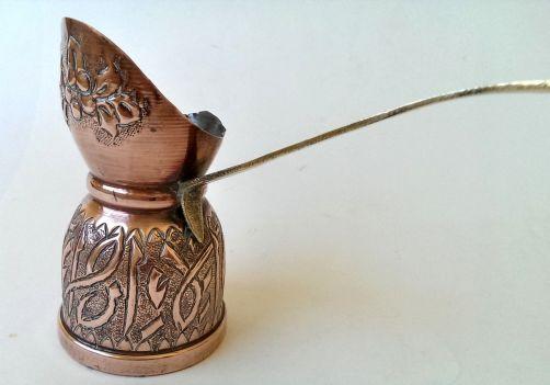 copper cafetera turca