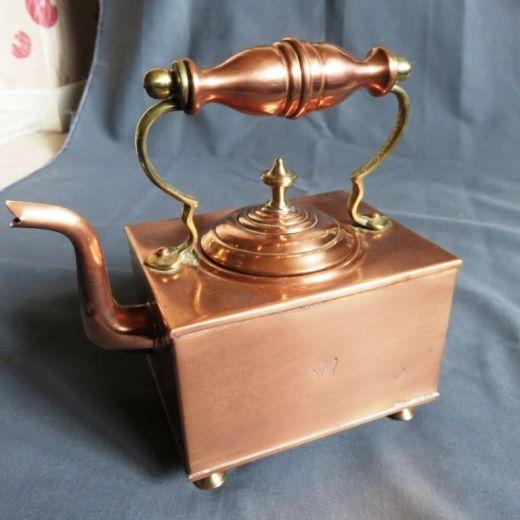 copper tetera victoriana