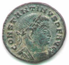 moneda constantino el grande romana 307 AC