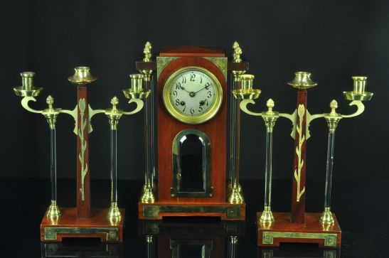 reloj art deco alemán 1920