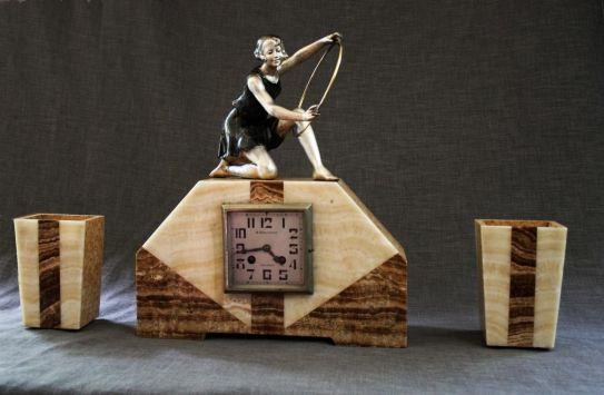 reloj art deco francés 1920