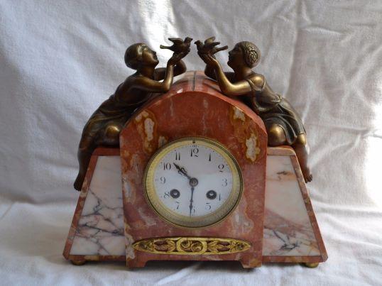 reloj art deco francés 1930