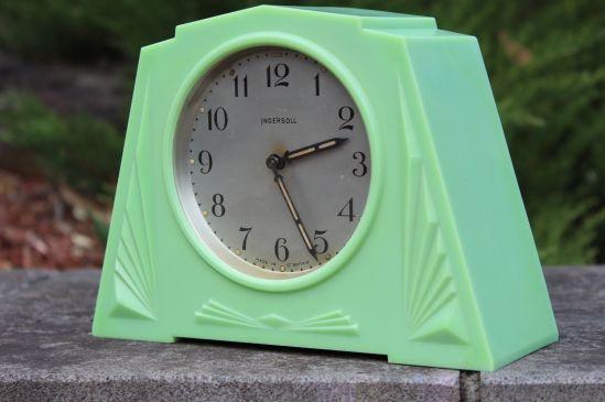 reloj art deco inglés 1930 baquelita