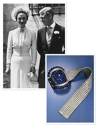 Wallis Simpson brasalete Van Cleef