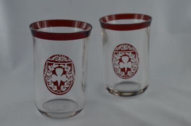 bohemia friendship glass