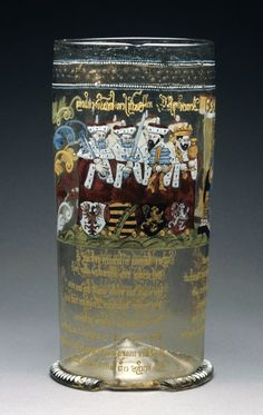 bohemia humpen glass