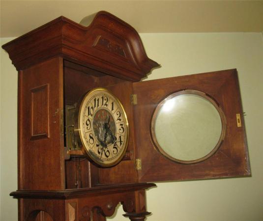 Grandfather's Clock 1800 roble aleman SCHLENKER KIENZLE 2