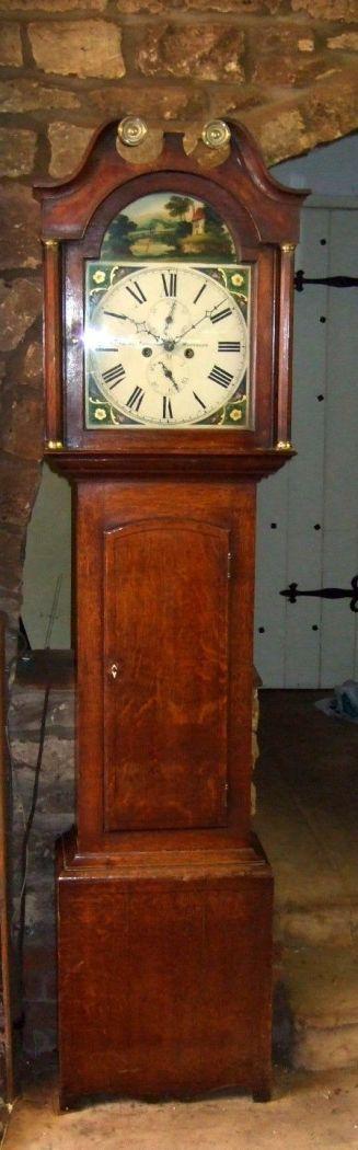 Grandfather's Clock 1830 roble inglés 2