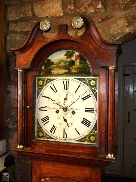 Grandfather's Clock 1830 roble inglés
