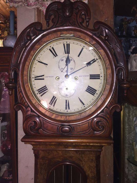 Grandfather's Clock 1860 Patrick Donegan of Dublin 2