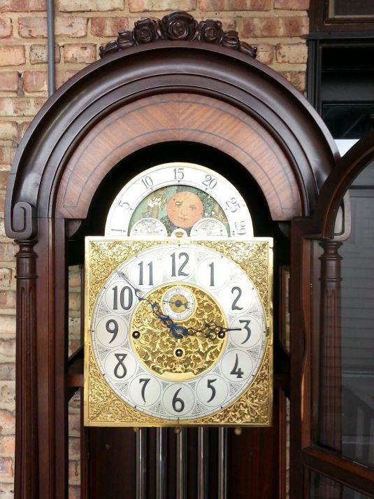 Grandfather's Clock 1940 Herschede USA 2