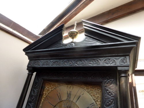 Grandfather's clock SIMPSON OF WIGTON 1730 roble inglés 2