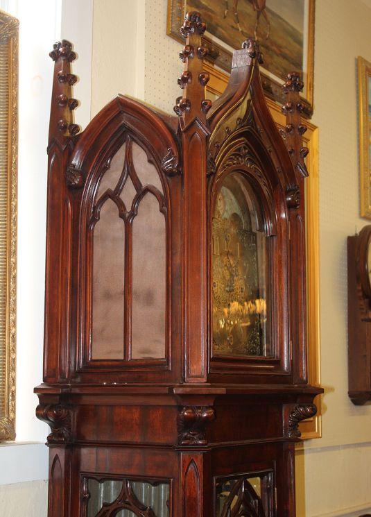 granfather's clock american 1890 estilo catedral gotica 2