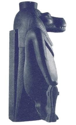 Thueris egispcia - Diosa de la fecundidad