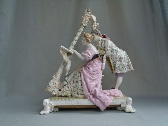 porcelana alemana passau de 1840 5,000 dolares