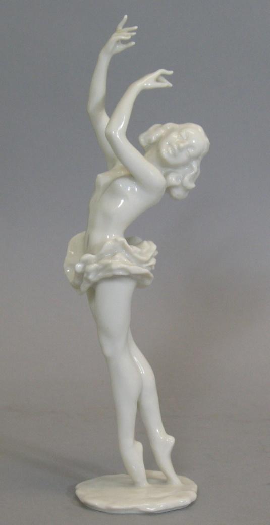 Bailarina porcelana alemana 1950.