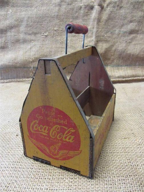 Portabotellas de madera, 1940.