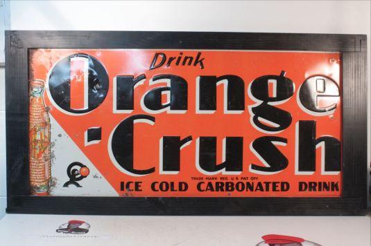 Cartel de gaseosa Crush. USA, 1935.